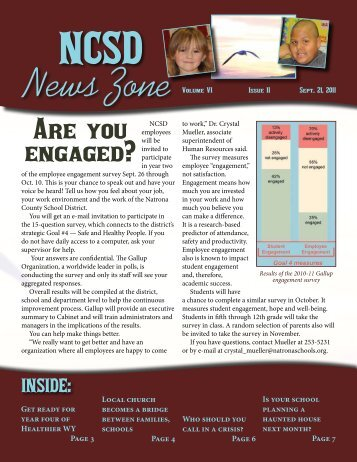 September 2011 NCSD News Zone - Natrona County Schools