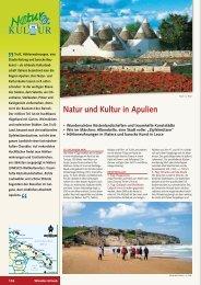 Natur und Kultur in Apulien - Wikinger Reisen GmbH