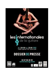 Les Expositions des Internationales de la guitare - Foxoo