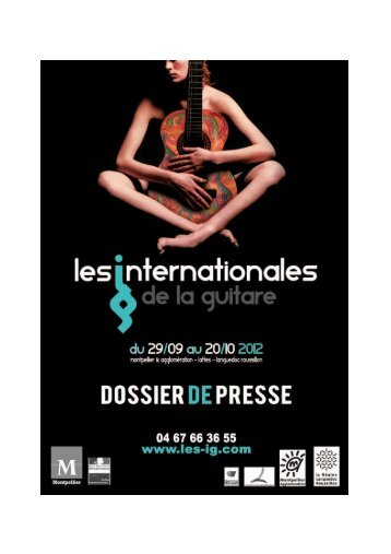 Les Expositions des Internationales de la guitare - Foxoo