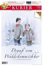 Weihnachten in Österreich vom 6. Dezember 2013 - Kurieranzeigen