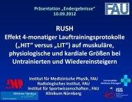 Download PDF: Abschlussergebnisse RUSH - OFZ Uni Erlangen