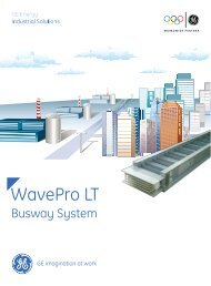 WavePro LT - GE Industrial Systems
