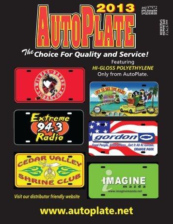 AutoPlate Catalog