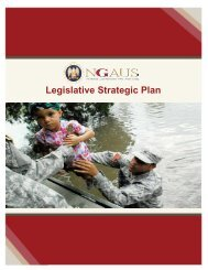 Legislative Strategic Plan - National Guard Association of the U.S.