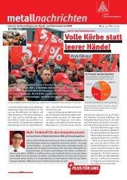 metallnachrichten - IG Metall NRW