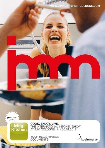 cook. enjoy. live. the international kitchen show at ... - Koelnmesse