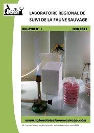 bulletin semestriel juin 2011 - lrsfs