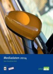 Mediadaten 2014 - VCS Verkehrs-Club der Schweiz