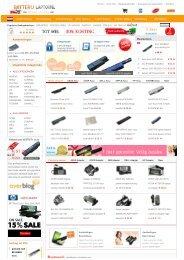 Hoog kwaliteit laptop batterij, laptop accu lage ... - Batterij-Laptop.Nl
