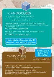 CANDOCUBES - Primarily Learning
