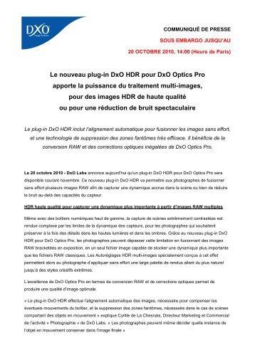 Image Quality Evaluation - DxO Labs