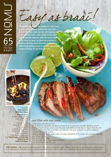 NoMU Recipe Mailer Vol.65 Easy as Braai, March [901 KB]