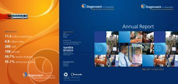 Annual performance report 2011 - Stagecoach Group