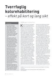 effekter på kort og lang sikt. Allergi i Praksis 2013 - Norges Astma ...