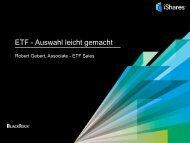 ETF - Auswahl leicht gemacht - Scoach Europa AG