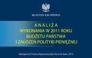 Analiza wykonania budżetu - prezentacja (plik PDF)