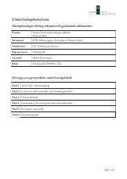 Teknologi B 2L 2008-2009.pdf - Københavns Tekniske Skole