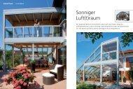 Sonniger Luft(t)raum - BAUMANN Wintergarten