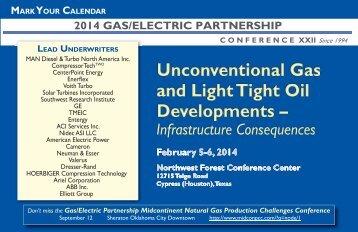 brochure - Gas/Electric Partnership