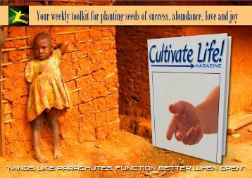 Cultivate Life! Magazine #25 - Trans4mind