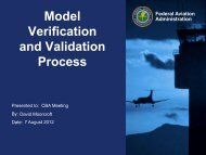Summary of Model Verification and Validation Process