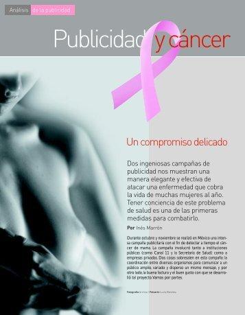 Publicidad y cáncer - Profeco