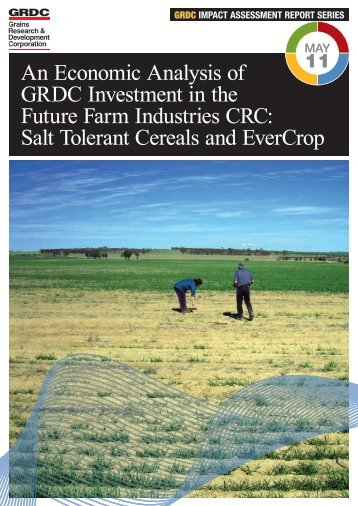 Salt Tolerant Cereals and EverCrop - Grains Research ...