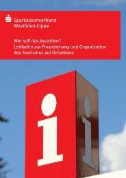 Leitfaden Tourismusfinanzierung (PDF) - Westfalen-Lippe