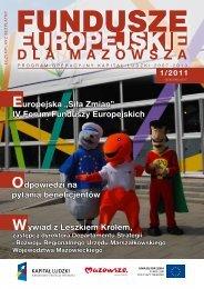 nr 1/2011 - Mazowiecka Jednostka Wdrażania Programów Unijnych