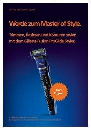 Werde zum Master of Style mit dem Gillette Fusion ... - trndload