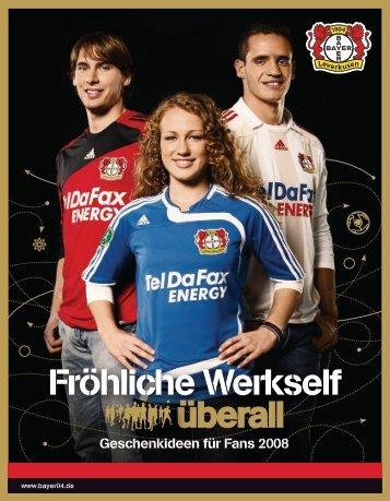 Fröhliche Werkself überall - Bayer 04 Leverkusen