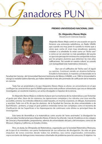 Dr. Alejandro Illanes - dgapa unam