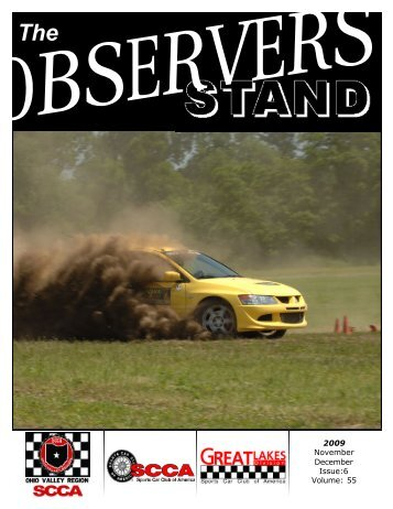 2009 November December Issue:6 Volume: 55 - The Ohio Valley ...