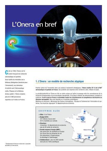 Dossier de presse - Onera