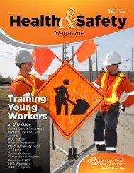 Health & Safety Magazine (Vol 12, Issue 1) - Infrastructure Health ...
