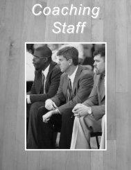 Media Guide Section 2-Coaching Staff - Mercer University