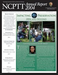 2004 Annual Report.indd - National Center for Preservation ...