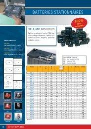 Téléchargez le PDF de batteries stationnaires - Battery Supplies