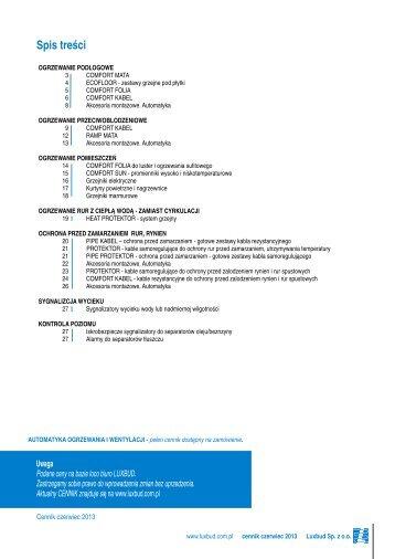 Cennik Budownictwo 2013 - Luxbud