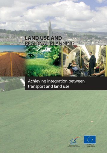 Land use and regional planning - Transport Research & Innovation ...