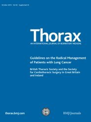 Guidelines on the Radical Management of Patients ... - Brit Thoracic