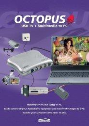 Octopus USB TV + Multimedia to PC - Okos Otthon