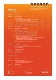 Programme (pdf) - Sario