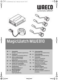MagicWatch MWE810 - Waeco