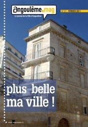 FÉVRIER 2011 N°27 - Angoulême