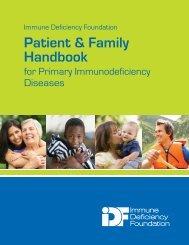 Patient & Family Handbook - Immune Deficiency Foundation