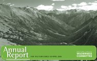 2006 Annual Report - Wilderness Committee