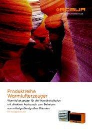 Katalog - Produkt-Übersicht - Robur GmbH