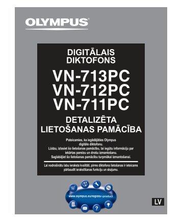 detalizēta lietošanas pamācība digitālais diktofons - Olympus